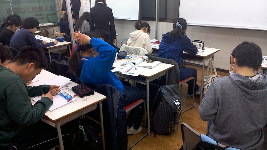学年末テスト 直前補講_北小金_01