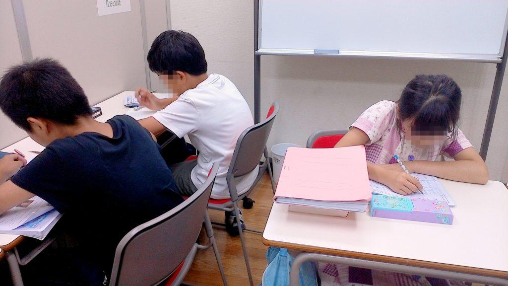 学校ドリル 学習会_0714 北小金教室_01