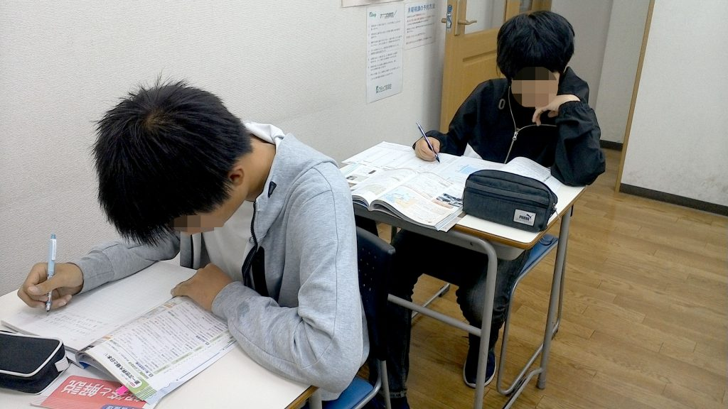 期末テスト 直前補講 北小金教室 190615_01
